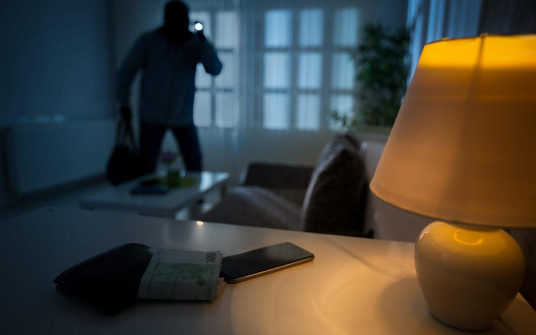 Um sistema de alarme é a melhor arma para afastar os assaltantes