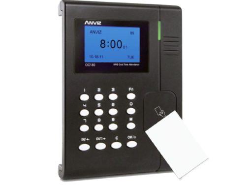Terminal de Controlo de Presença ANVIZ Cartões RFID e teclado