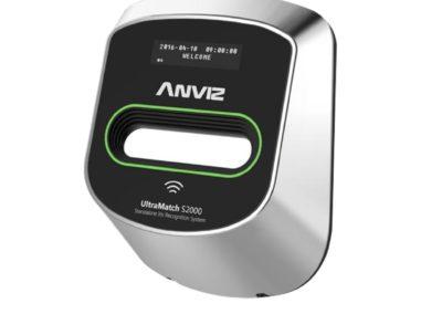 Leitor biométrico autónomo ANVIZ Iris e cartões EM RFID
