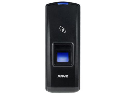 Leitor Biométrico autónomo ANVIZ Impressões digitais e cartões MIFARE